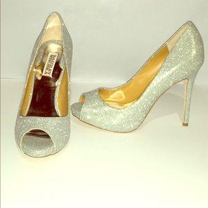 💋 badgley mischka heels!!! Sz 8.5💋